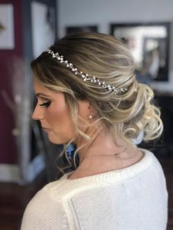bridal makeup studio bridal hair salon bridal hairstyles wedding hairstyles Connecticut CT 1