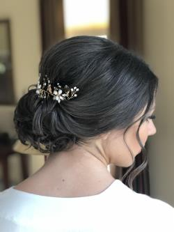 bridal makeup studio bridal hair salon bridal hairstyles wedding hairstyles Connecticut CT 2