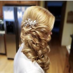 bridal makeup studio bridal hair salon bridal hairstyles wedding hairstyles Connecticut CT 51